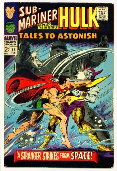 TALES to ASTONISH #88 Marvel Comics 1967 The Hulk