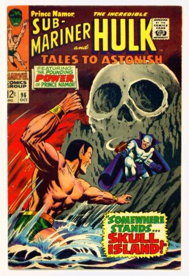 TALES to ASTONISH #96 Marvel Comics 1967 The Hulk