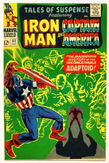 TALES of SUSPENSE #82 Marvel Comics 1966 IRON MAN CAPTAIN AMERICA