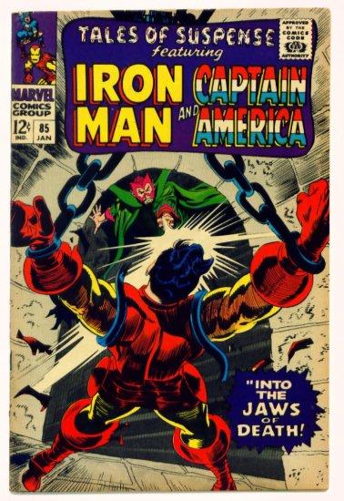 TALES of SUSPENSE #85 Marvel Comics 1967 IRON MAN CAPTAIN AMERICA
