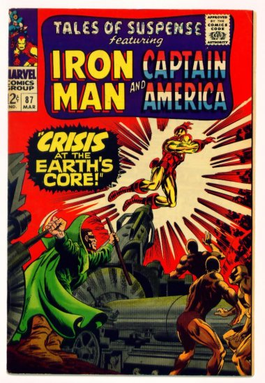 TALES of SUSPENSE #87 Marvel Comics 1967