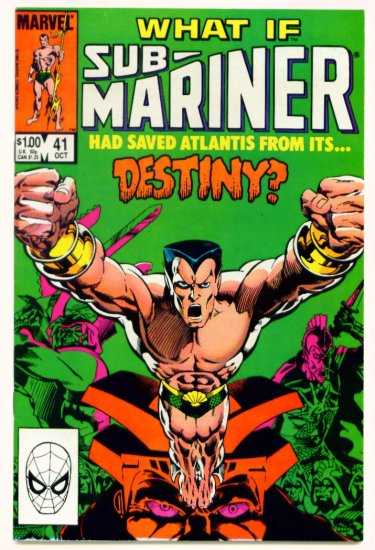 SUB-MARINER WHAT IF ? #41 Marvel Comics 1983
