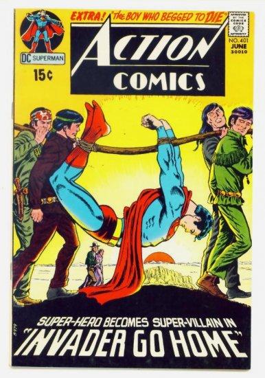 ACTION COMICS #401 DC 1971 Superman VERY FINE