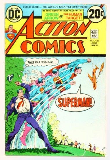 ACTION COMICS #426 DC 1973 Superman Green Arrow