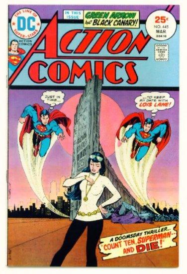 ACTION COMICS #445 DC 1975 Superman Green Arrow