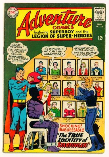 ADVENTURE COMICS #336 DC 1965 Legion of Super-Heroes