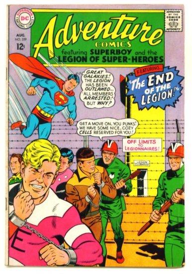 ADVENTURE COMICS #359 DC 1967 Legion of Super-Heroes