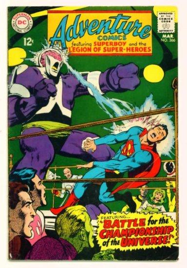 ADVENTURE COMICS #366 DC 1968 Legion of Super-Heroes