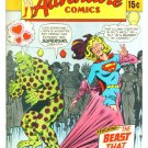 Supergirl and Superman ADVENTURE COMICS #386 DC 1969 FINE