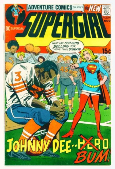 Supergirl ADVENTURE COMICS #399 DC 1970 GA Black Canary FINE