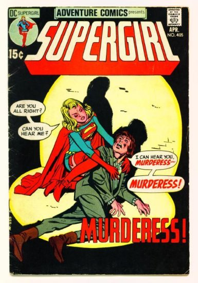 ADVENTURE COMICS #405 DC 1971 Supergirl