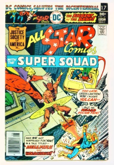 ALL-STAR COMICS #61 DC 1976 Justice Society of America