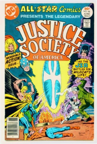 ALL-STAR COMICS #66 DC 1977 Justice Society of America