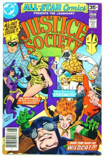 ALL-STAR COMICS #73 DC 1978 Justice Society of America