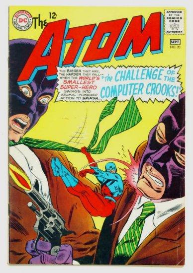 The ATOM #20 DC Comics 1965