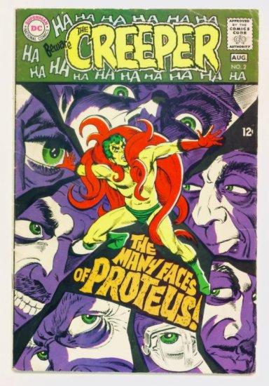 Beware The CREEPER #2 DC Comics 1968 Steve Ditko