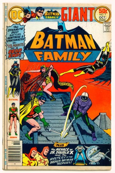 BATGIRL BATMAN FAMILY #7 DC Comics 1976 GIANT