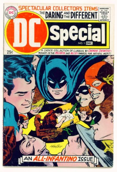 DC SPECIAL #1 DC Comics 1968 Infantino BATMAN FLASH