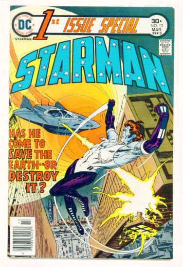 First Issue Special #12 DC Comics 1976 1st Appearance Blue STARMAN