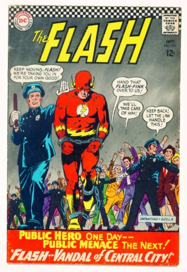 The FLASH #164 DC Comics 1966