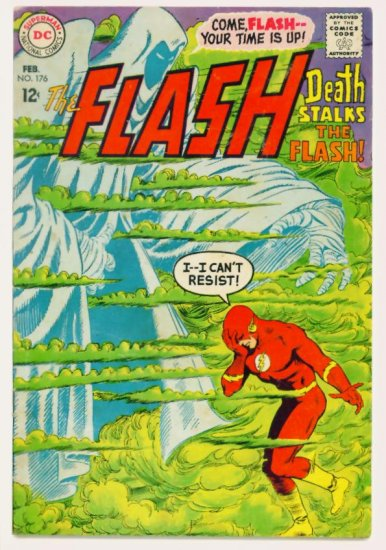The FLASH #176 DC Comics 1968