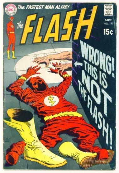 The FLASH #191 DC Comics 1969 Green Lantern