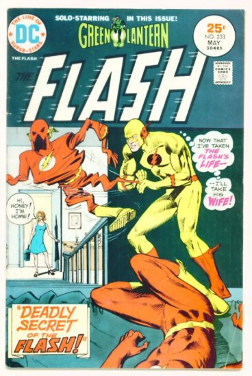The FLASH #233 DC Comics 1975 Green Lantern