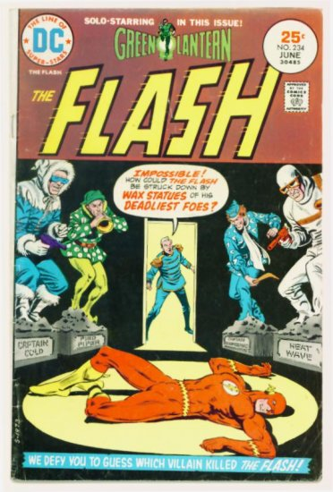 The FLASH #234 DC Comics 1975 Green Lantern