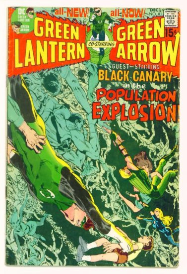 GREEN LANTERN #81 DC Comics 1970 Neal Adams