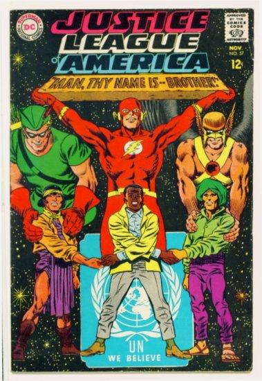 JUSTICE LEAGUE of AMERICA #57 DC Comics 1967