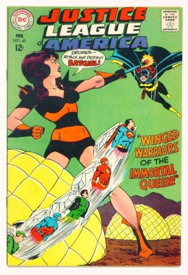 BATGIRL JUSTICE LEAGUE of AMERICA #60 DC Comics 1968 FINE