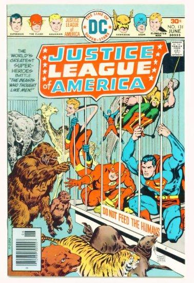 JUSTICE LEAGUE of AMERICA #131 DC Comics 1976