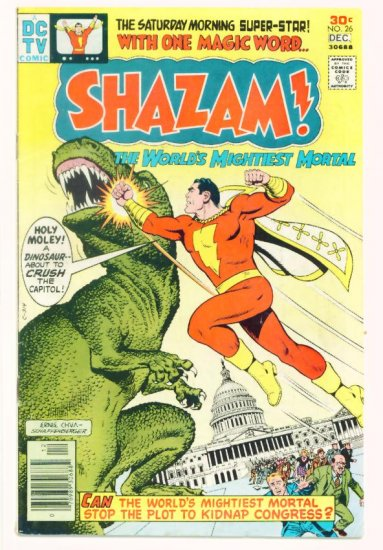 SHAZAM ! #26 DC Comics 1976 Captain Marvel