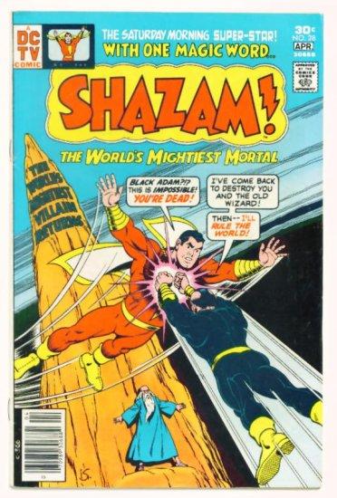 SHAZAM ! #28 DC Comics 1977 Captain Marvel Vs Black Adam