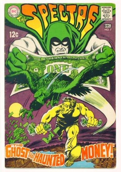 The SPECTRE #7 DC Comics 1968 Hourman