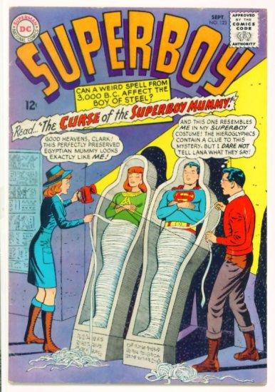 SUPERBOY #123 DC Comics 1965 Lana Lang and Krypto