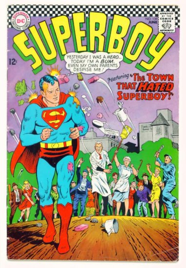SUPERBOY #139 DC Comics 1967