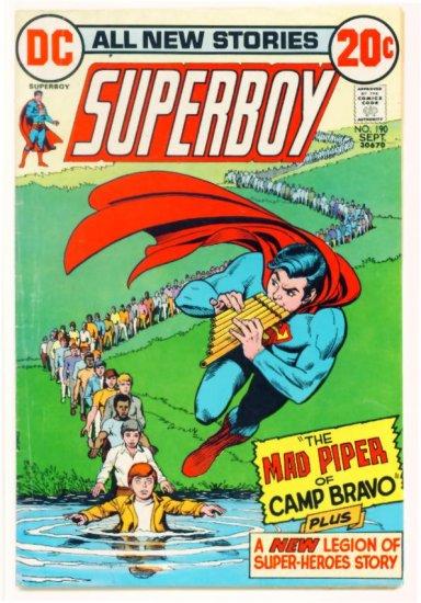 SUPERBOY #190 DC Comics 1972