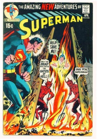 SUPERMAN #236 DC Comics 1971 Neal Adams