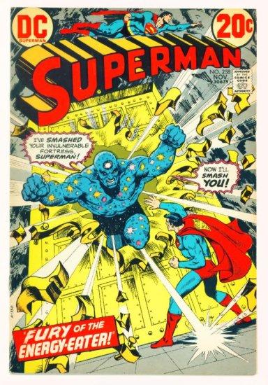 SUPERMAN #258 DC Comics 1972