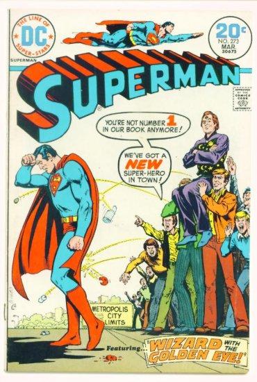 SUPERMAN #273 DC Comics 1974