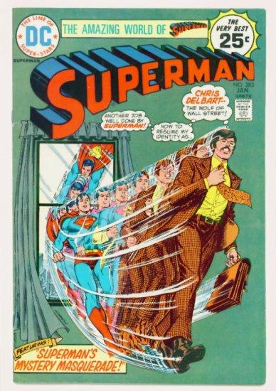 SUPERMAN #283 DC Comics 1975 Mr. Mxyzptlk
