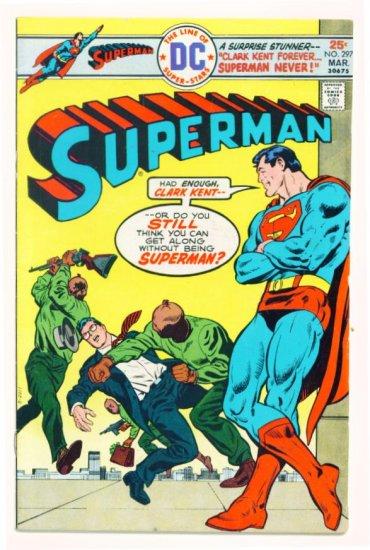 SUPERMAN #297 DC Comics 1976