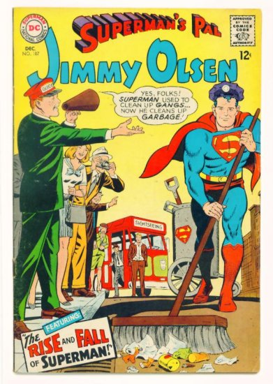 JIMMY OLSEN Superman's Pal #107 DC Comics 1967