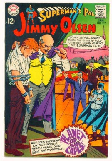 JIMMY OLSEN Supermans Pal #117 DC Comics 1969 Batman Appearance