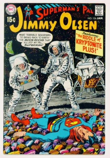 JIMMY OLSEN Superman's Pal #126 DC Comics 1970