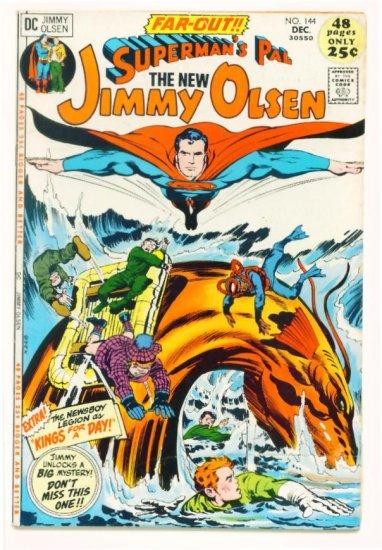 Supermans Pal JIMMY OLSEN #144 DC Comics 1971 Jack Kirby GIANT