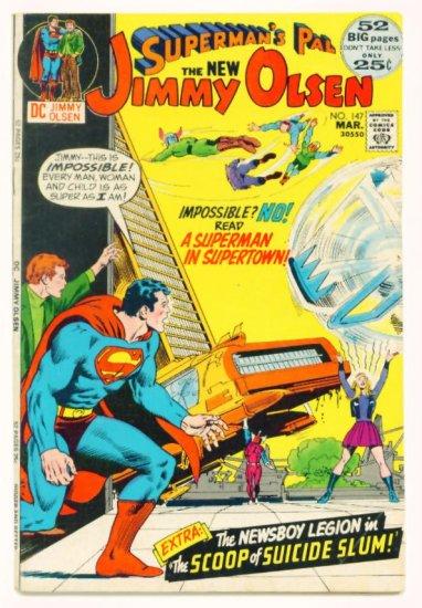 Supermans Pal JIMMY OLSEN #147 DC Comics 1972 Jack Kirby GIANT