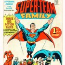 SUPER-TEAM FAMILY #1 DC Comics 1975 GIANT Wally Wood
