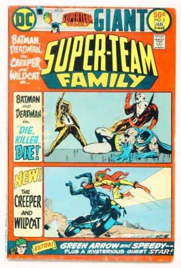 SUPER-TEAM FAMILY #2 DC Comics 1975 GIANT Deadman
